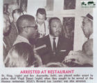 Arrest of Martin Luther King